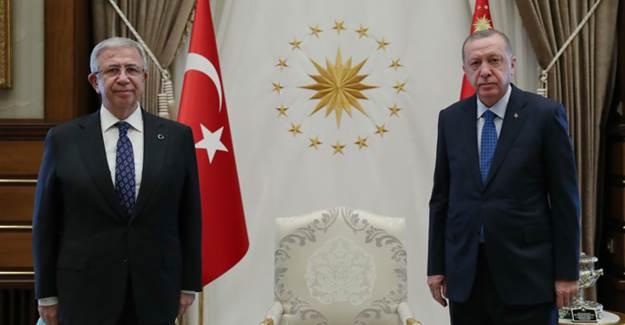 Cumhurbaşkanı Erdoğan Mansur Yavaş'ı Kabul Etti