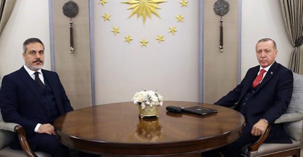 Cumhurbaşkanı Erdoğan MİT Başkanı Fidan ile Görüştü