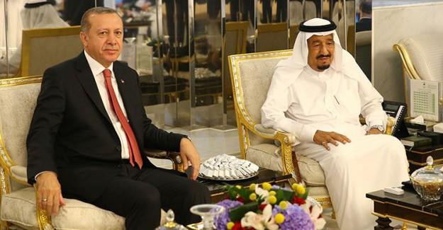 Cumhurbaşkanı Erdoğan, Suudi Kral Selman İle Telefonda Görüştü