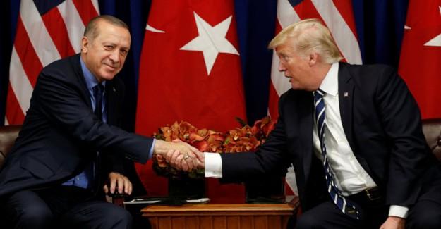 Cumhurbaşkanı Erdoğan Trump İle Görüştü