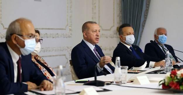 Cumhurbaşkanı Erdoğan, Türkiye İhracatçılar Meclisi Heyetini Kabul Etti