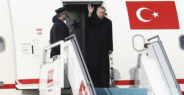 Cumhurbaşkanı Erdoğan Üçlü Zirve İçin Rusya'ya Gitti