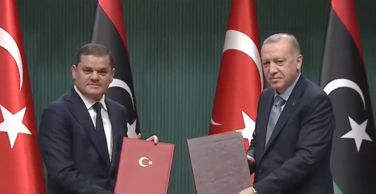 Cumhurbaşkanı Erdoğan ve Libya Başbakanı Dibeybe'den Ortak Açıklama