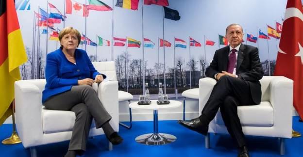 Cumhurbaşkanı Erdoğan Ve Merkel Doğu Akdeniz İçin Görüştü
