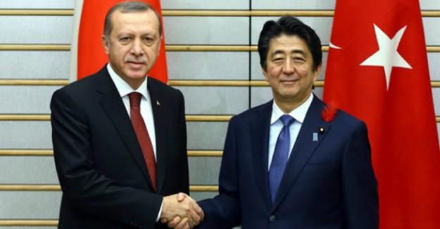 Cumhurbaşkanı Erdoğan'a Japonya'dan Teşekkür!