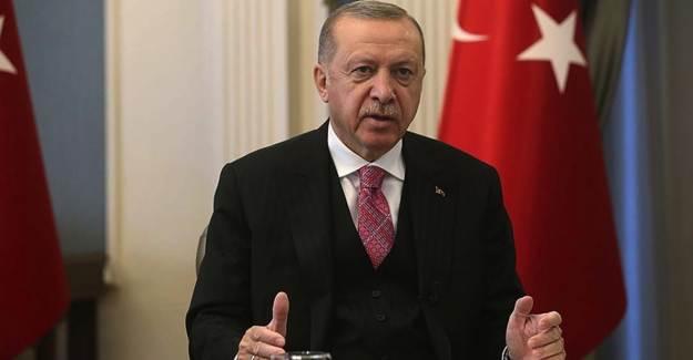 Cumhurbaşkanı Erdoğan'dan Şehit Yakınlarına Mesaj