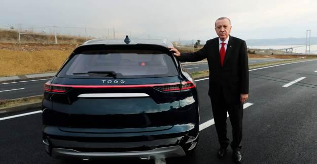 Cumhurbaşkanı Erdoğan'dan TOGG Paylaşımı