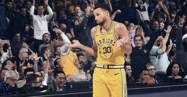 Curry'nin İnanılmaz Performansı Warriors'a Galibiyeti Getirdi!