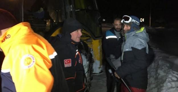 Dağda Mahsur Kalan Paraşütçüden Kurtarma Ekiplerine Tepki