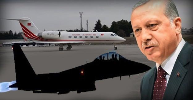 Darbecilerin F-16'sı Erdoğan'ın Uçağını Tam Vuracakken...