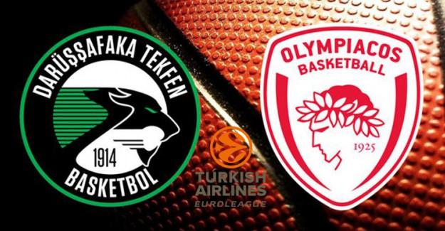 Darüşşafaka-Olympiakos Canlı İzle, Ne Zaman, Saat Kaçta?