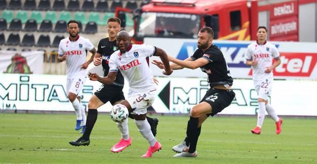 Denizlispor 0-0 Trabzonspor
