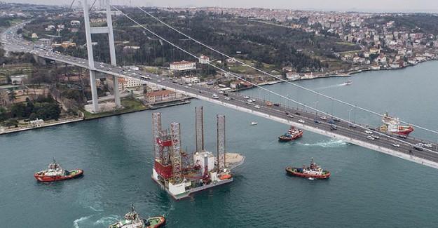 Dev Sondaj Platformu İstanbul Boğazı'ndan Geçirildi