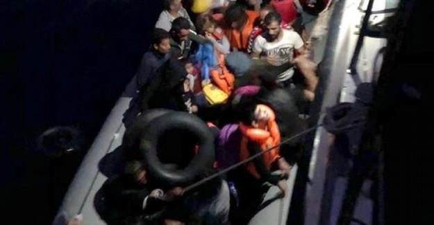 Didim Açıklarında 39 Düzensiz Göçmen Yakalandı