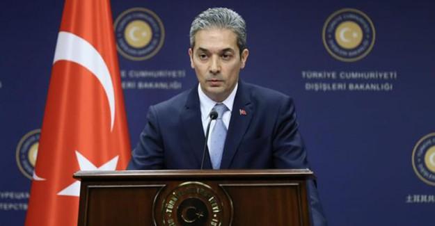 Dışişleri Bakanlığı Sözcüsü Aksoy: Avrupa Parlamentosu'nun Türkiye Raporu Kabul Edilemez