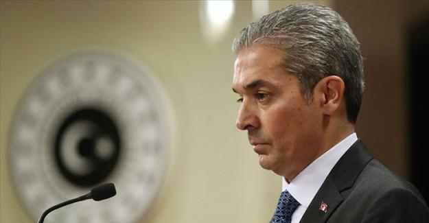 Dışişleri Bakanlığı Sözcüsü Aksoy'dan İtalya ve GKRY'ye 'Doğu Akdeniz' Tepkisi