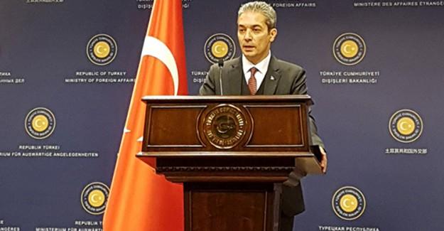 Dışişleri Bakanlığı Sözcüsü Aksoy'dan Mısırlı Mevkidaşına Sert Cevap