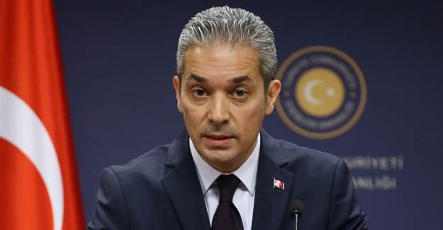 Dışişleri Bakanlığı Sözcüsü Hami Aksoy'dan Uygur Türkleri Açıklaması