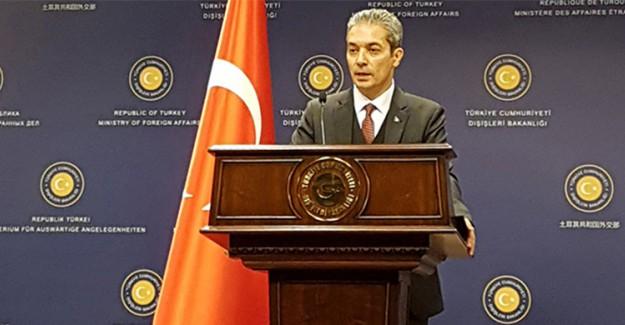 Dışişleri Sözcüsü Aksoy, Güney Kıbrıs Rum Yönetimi'ne Tepki Gösterdi