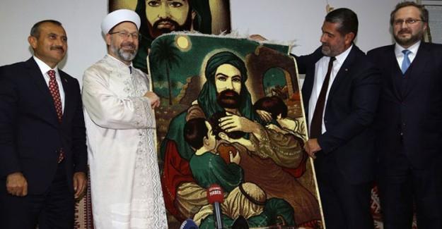 Diyanet İşleri Başkanı Erbaş, Tunceli'de Cemevini Ziyaret Etti