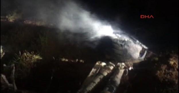 Diyarbakır'da F-16 Savaş Uçağı Düştü! Saldırı İhtimali Var!