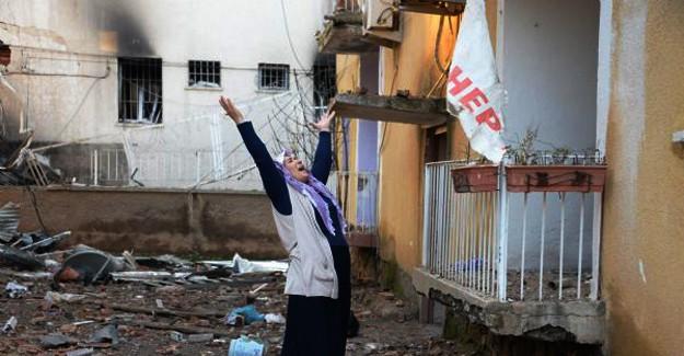 Diyarbakır'da 1 Şehit, 5 Ölü, 38 Yaralı!