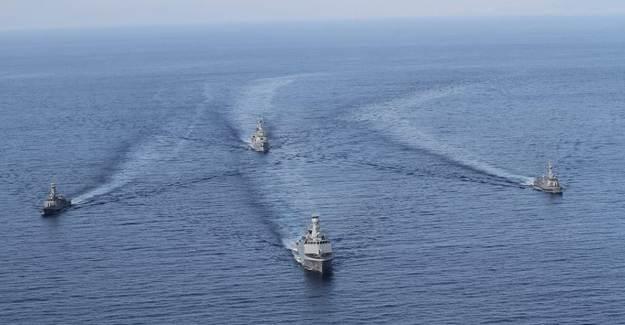 Doğu Akdeniz'de Turgutreis-5 Tatbikatı İcra Edildi