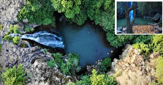 Doğu'nun Saklı Cenneti Çöl Sıcaklarında Serinletti: Seyhandede Şelalesi