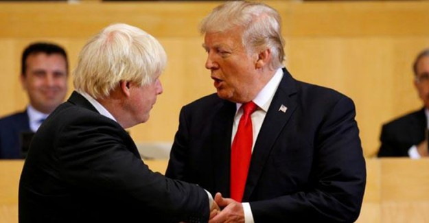 Donald Trump ile Boris Johnson Telefonda Görüştü
