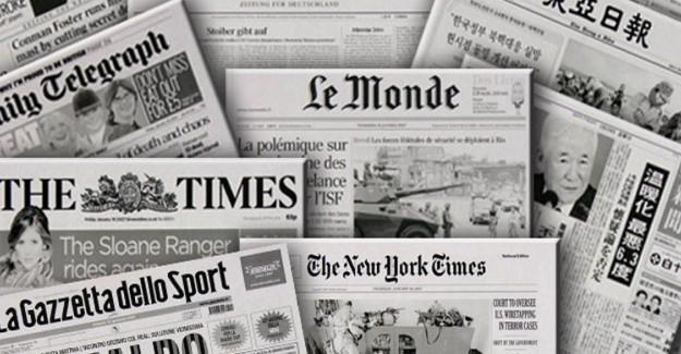 Dünya Basını İlk Sonuçları Nasıl Gördü