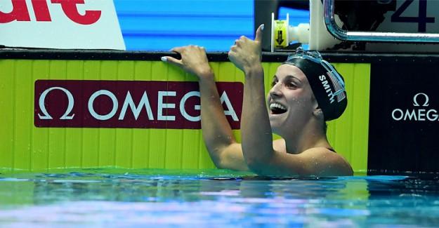 Dünya Yüzme Şampiyonası Kadınlarda Amerikalı Regan Smith Dünya Rekoru Kırdı!
