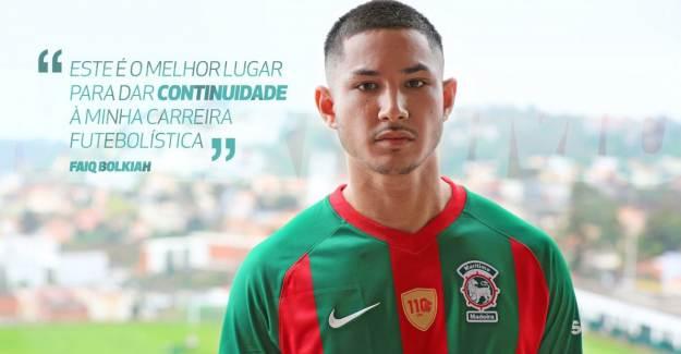 Dünyanın En Zengin Futbolcusu Faiq Bolkiah, Maritimo'da