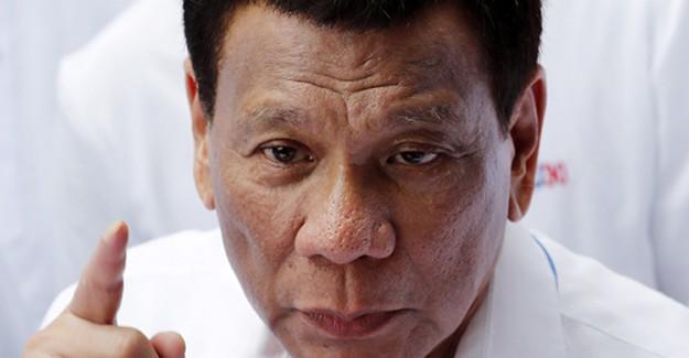 Duterte'den ABD'ye Tepki: 'Asla İzin Vermem'