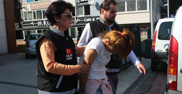 Düzenlenen Fuhuş Operasyonunda Yakalanan Ecnebi Kadın Serbest Bırakıldı