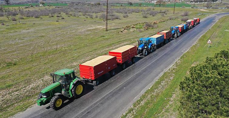 Edirne'deki Üreticiler Depolarında Kalan Çeltikleri TMO'ne Getirmeye Başladı