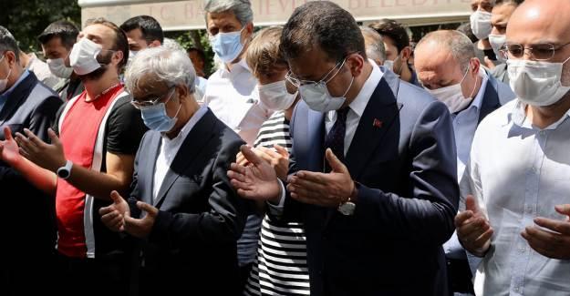 Ekrem İmamoğlu, HDP Eş Genel Başkanı Mithat Sancar'ın Ölen Kardeşinin Cenazesine Katıldı