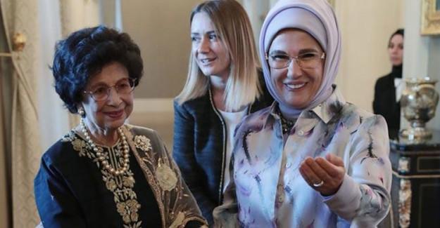 Emine Erdoğan Malezya Başbakanı'nın Eşi ile Bir Araya Geldi