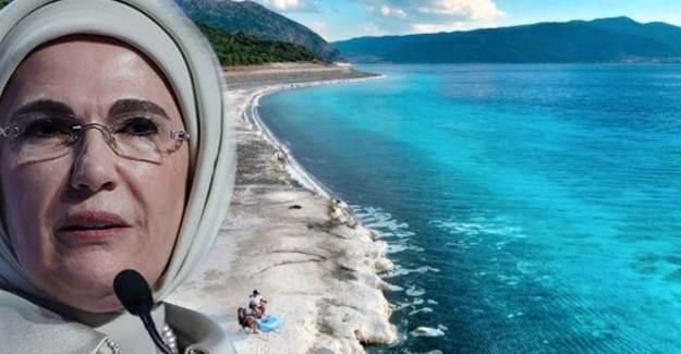Emine Erdoğan Salda Gölü Kararını Tebrik Etti