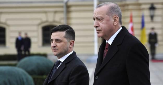 Erdoğan, Zelensky'le Telefonda Görüştü