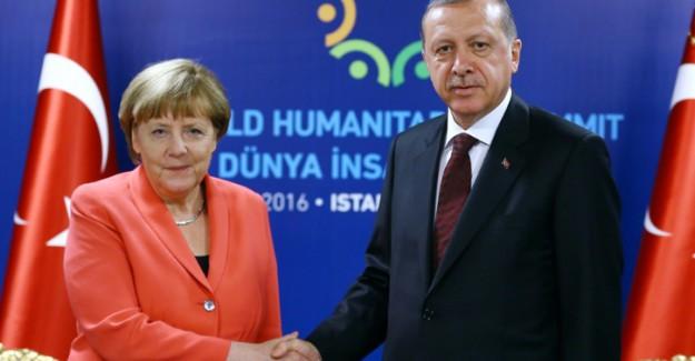 Erdoğan-Merkel Görüşmesinde O Konuda Mutabakat Sağlandı!