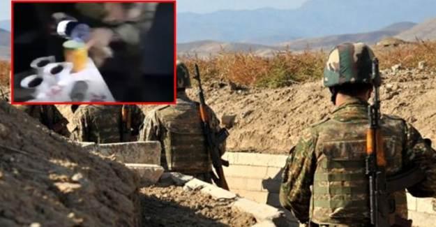Ermeni Askerleri Çay ve Yiyeceklerini Bırakıp Kaçtı