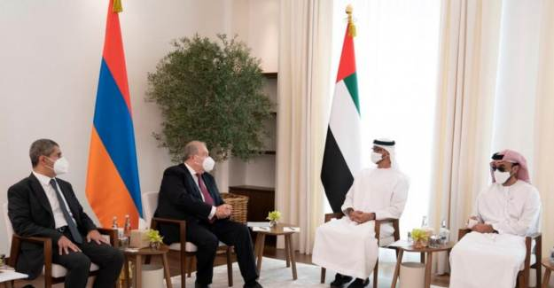 Ermenistan Cumhurbaşkanı Sarkisyan BAE Prensi Zayed ile Görüştü