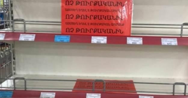 Ermenistan, Türk Ürünlerine Boykot Kararı Aldı