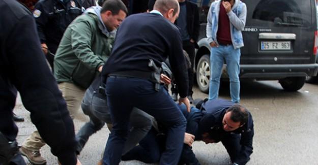 Erzurum'da Bıçaklı Kavga: Yaralılar Var