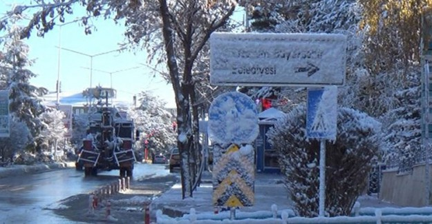 Erzurum'da Termometreler Eski 10 Dereceyi Gördü!