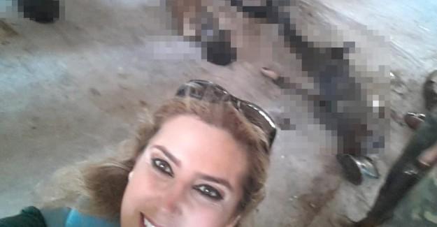 Esed Gibi O da İnsanlıktan Çıktı! Bu da Katliam Selfiesi!