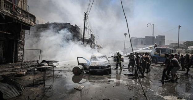 Esed Rejimi İdlib'e Arefe Günü de Saldırdı: 2 Ölü 11 Yaralı