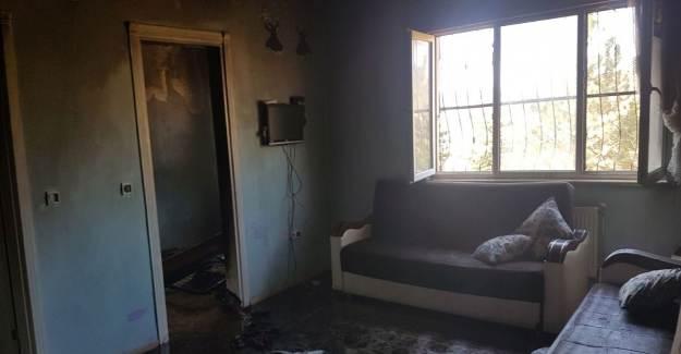Evde Tek Bırakılan 8 Aylık Bebek, Yangında Öldü