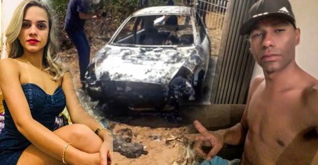Evli Adam, Tek Gecelik İlişki Yaşadığı Kadını Arabaya Bağlayıp Yakarak Öldürdü
