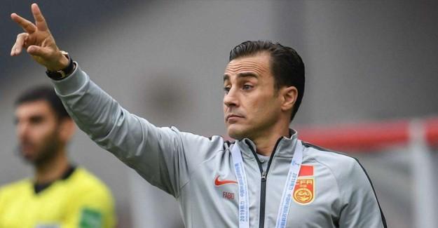 Fabio Cannavaro Çin Futbolu İçin Tarih Verdi